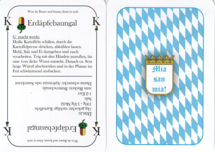 Speisespielkarten